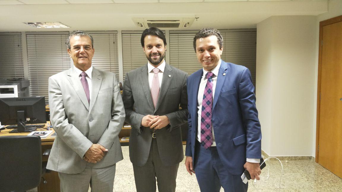 Pinato e Dilador buscam investimentos em infraestrutura e mobilidade para Aracatuba