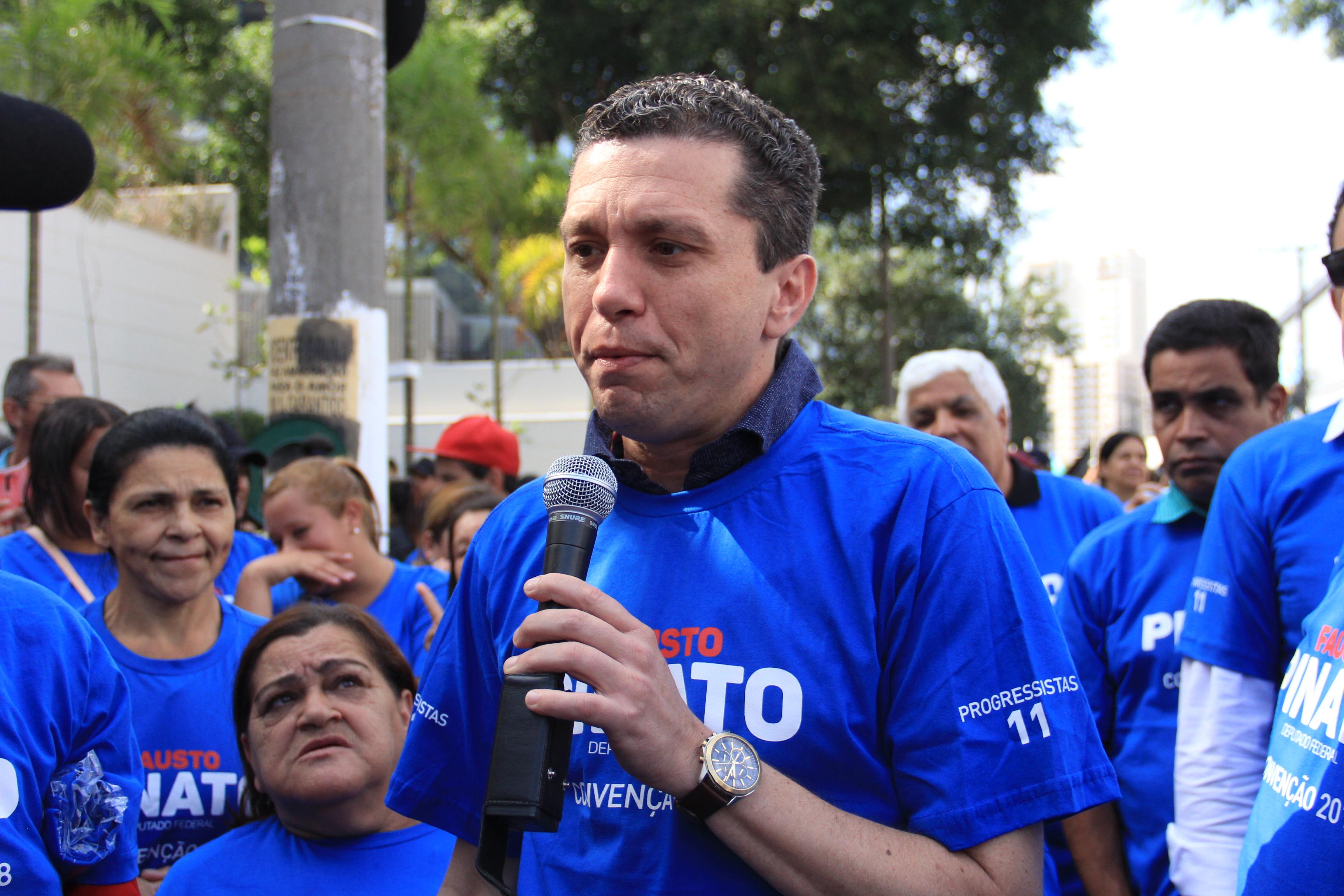 Pinato lança campanha em Fernandópolis neste sábado
