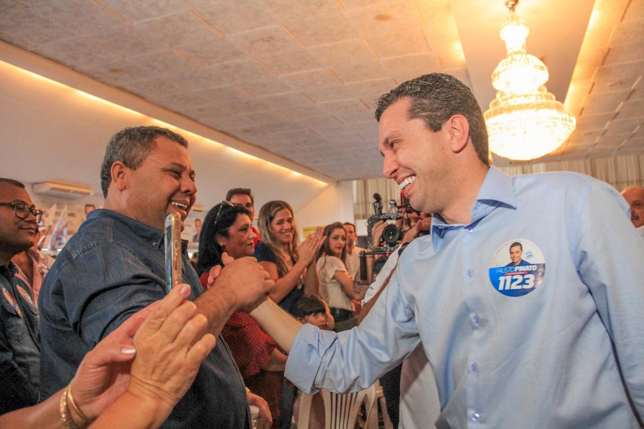 Com mais de 100 prefeitos, Pinato lança candidatura à reeleição em Fernandópolis