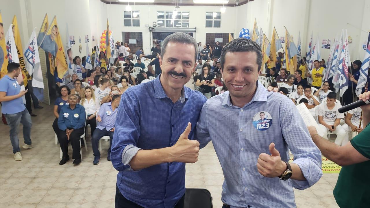 Pinato e Itamar Borges lançam campanha em Mirassol