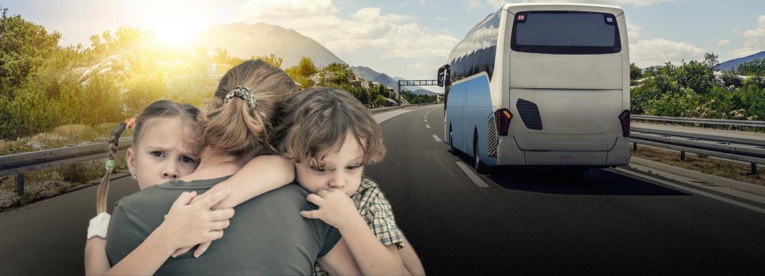 Projeto prevê gratuidade no transporte interestadual para vítimas de violência doméstica